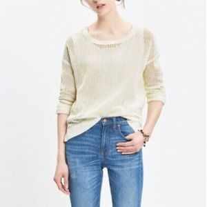 Madewell open knit sweater